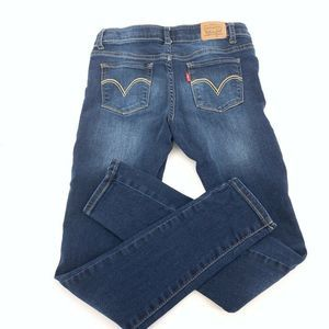 Levis Girls 710 Size 12 Super Skinny Jeans